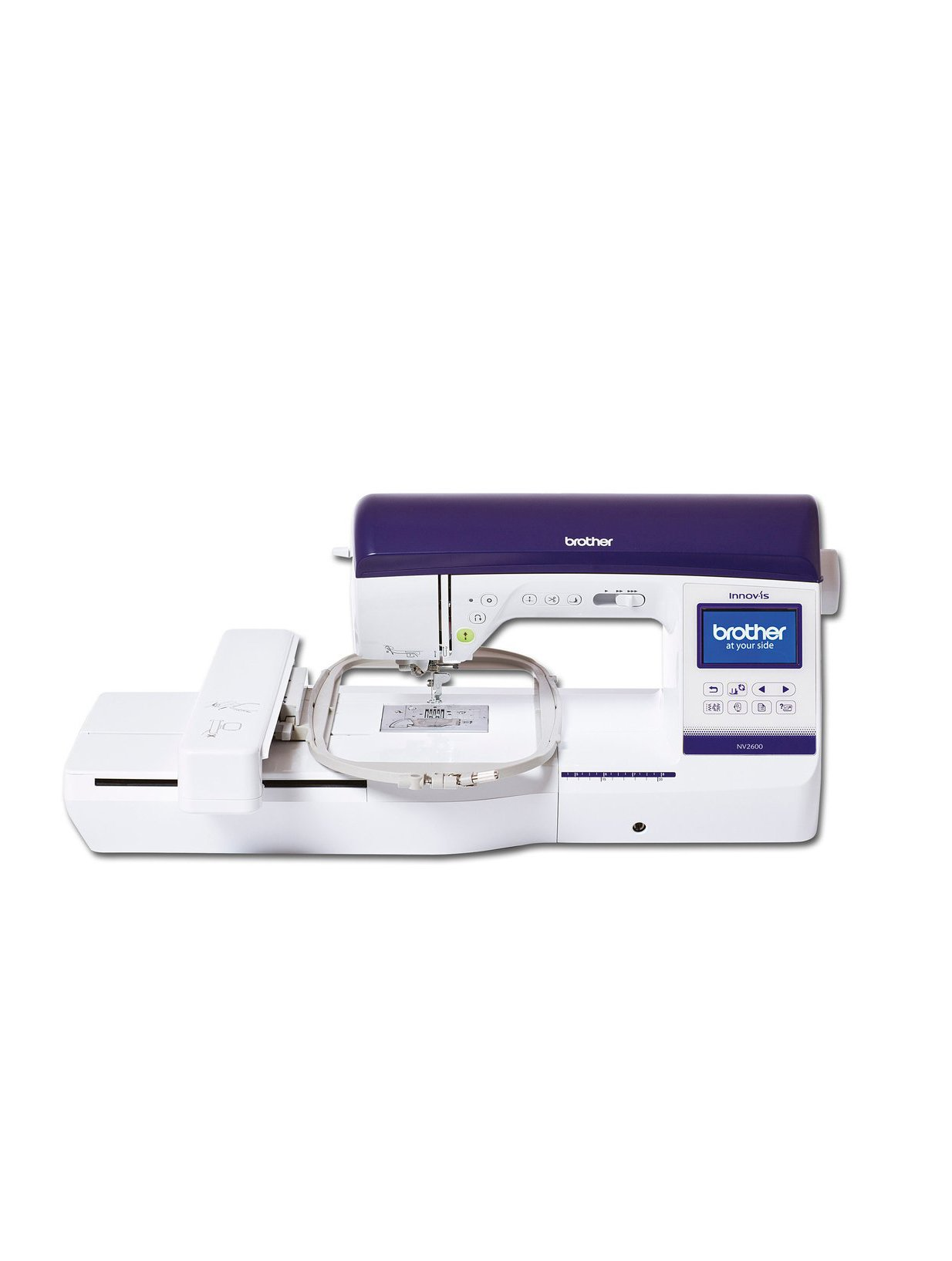 Brother NV2600 Innov-is Sewing Embroidery Machine Cheap Discount Designs Frame Hoops Table Stitches Speed