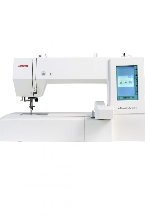 Janome Memory Craft 400E MC400E Embroidery Machine Hoop Workspace Size Area Stitches Designs Blackmore and Roy Perth Western Australia Cheap Discount Price
