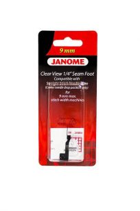 Clear View Foot Janome 9mm