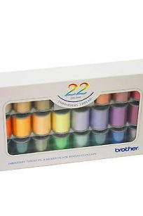 ETS-22N BROTHER EMBROIDERY THREAD SATIN