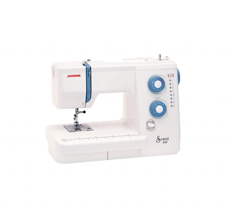 Janome Sewist 509 Mechanical Sewing Machine Discount Cheap Price Spotlight Manual Instructions Built-in Stitches Buttonhole Decorative Perth Western Australia Blackmore and Roy Sales Services and Repairs Commercial Industrial