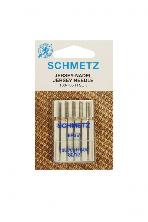 Jersey Needle 5 Packet Schmetz