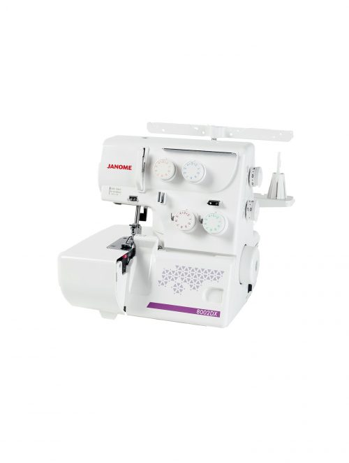 Janome 8002DX Overlocker Serger Cheap Discount Price Perth Western Australia Blackmore and Roy Commercial Industrial Carpet Blindstitch Coverstitch