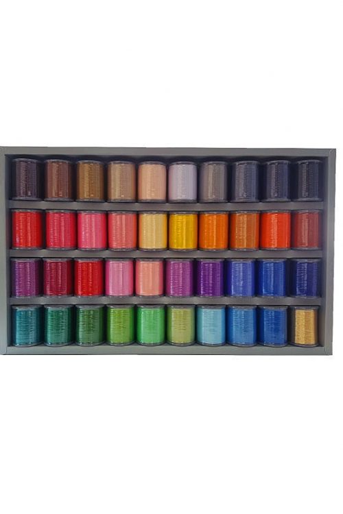 ETS-40N Embroidery Thread Set Brother Polyester Disney Colours Cheap Discount Postage Package Metallic Perth Western Australia Blackmore and Roy 40 Colour Thread