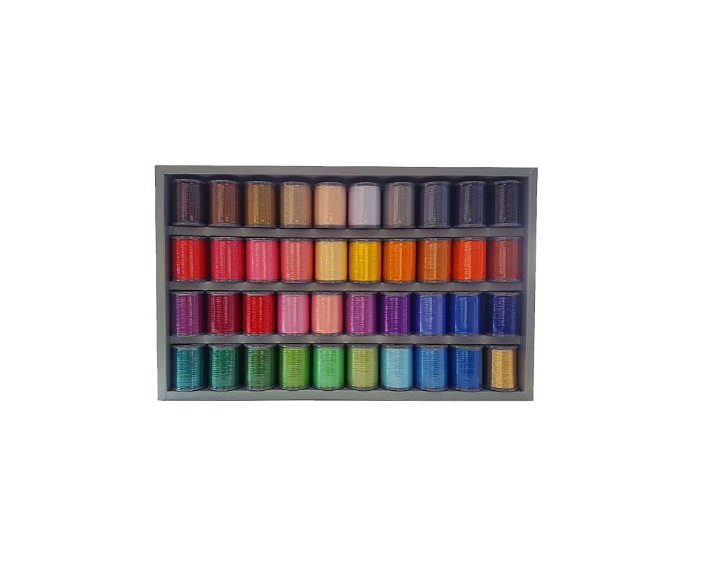 40 Colour Thread Embroidery Set Blackmore And Roy Perth Wa