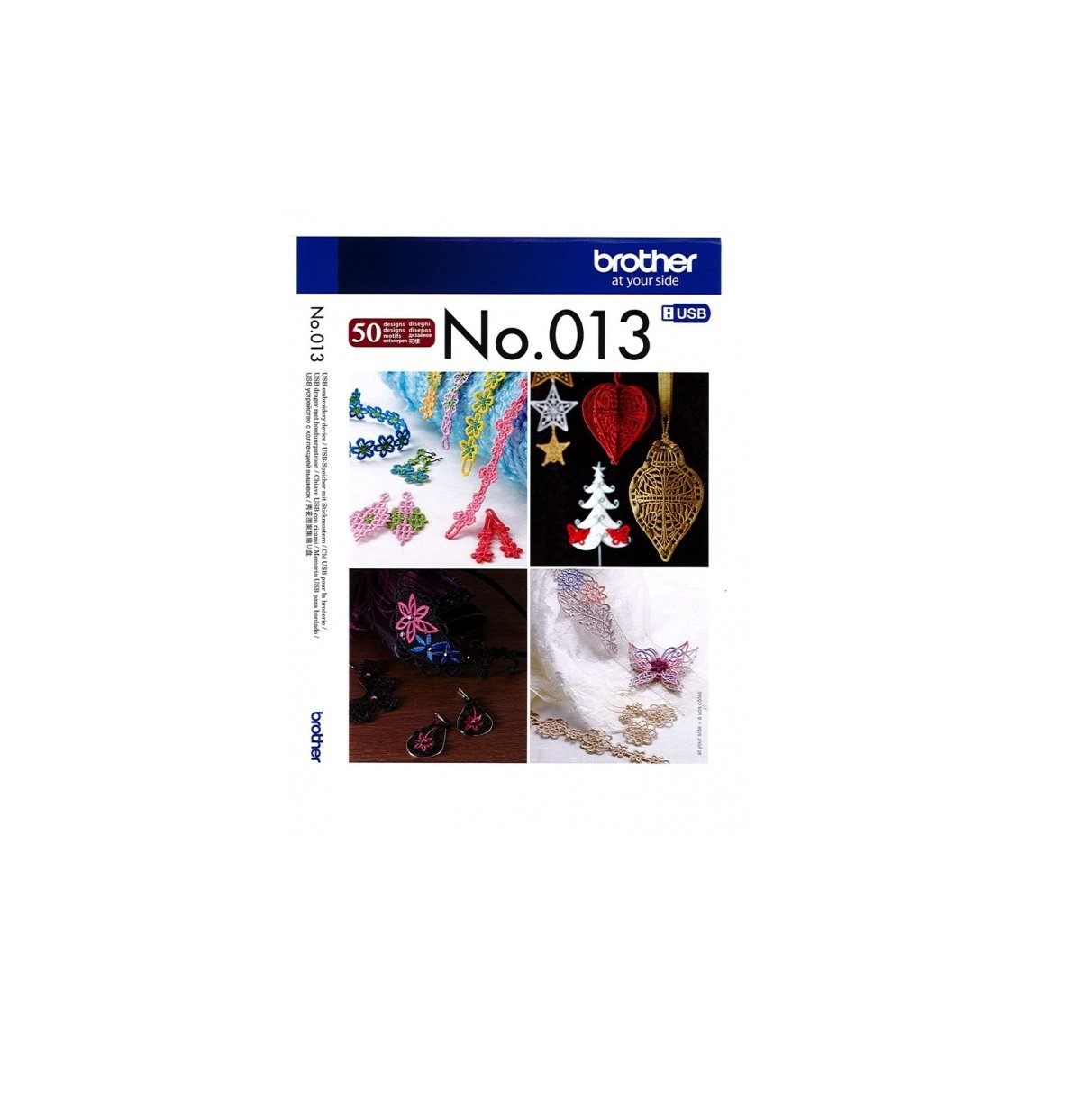 USB Embroidery Collection #013 - 3D Lace Accessories