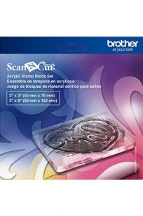 Acrylic Stamp Block Set Brother Scan N Cut Discount Spotlight Lincraft Artistic Edge Cricut Buy Postage Shop