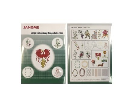 Large Embroidery USB MC500E Large Embroidery Design Janome