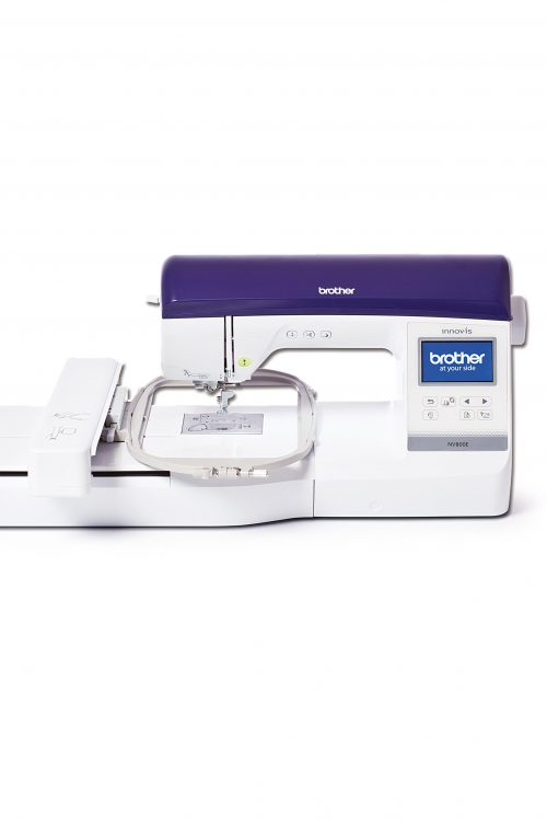 Innov-is NV800E Brother Embroidery Machine Stitches Designs Hoop Frames Built-in Features Specifications Accessories Instruction Manual Book Booklet Perth Western Australia