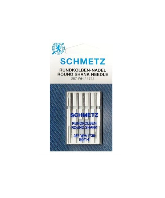 1738A Size 100 Pack of 5 Needles Schmetz Machine Needle ROUND SHANK