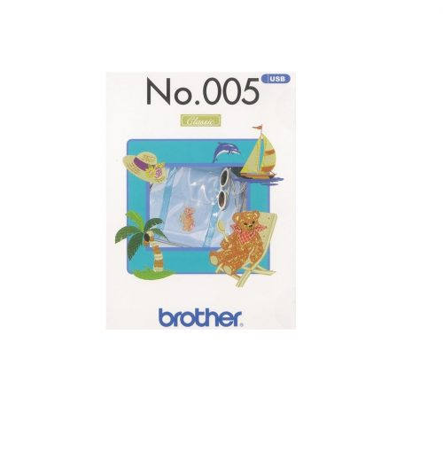 USB Embroidery Brother Summer Collection
