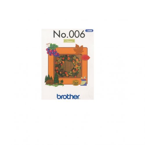 Brother USB Embroidery Collection Autumn