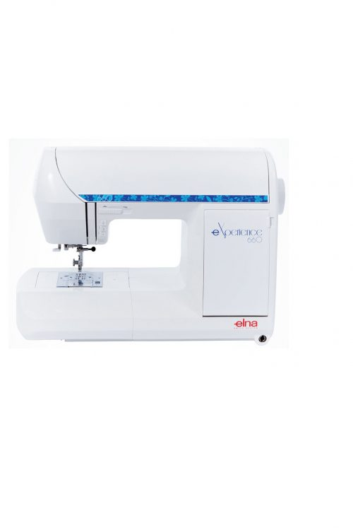 eXperience 660 Elna Elina Sewing Machine Sewer Domestic Perth Western Australia Sales Services Repairs Discount Cheap Price Accessories Built-in Stitches Decorative Wide Table Dimensions Work Space