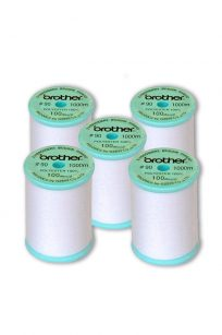 Brother Bobbin Thread Fill EBT-PEN 90wt Embroidery Sewing Australia Cones Spools 5 Pack Bulk Discount Prewounds Innov-is 800E VE2200 Winding Filament Polyester Spun EBT-CEN EBT-CEBN