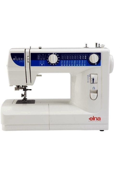 Elna eXplore 240 Sewing Machine Computerised Computerized Sewer Built-in Stitches Buttonhole Basic Beginner Spotlight Cheap Discount Blackmore and Roy Perth Western Australia