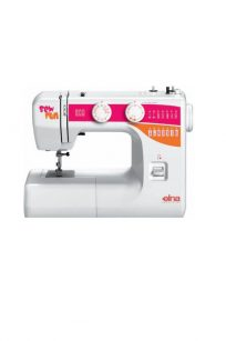 Elna Sew Fun Sewing Machine Blackmore and Roy Perth Western Australia WA Pink White Sewer Stitches Built in Buttonhole