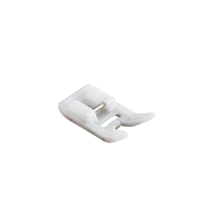 F007N Non Stick Foot F007N Non-Stick Foot Designed for use with hard-to-handle fabric that may otherwise stick to metal presser feet. (Horizontal)