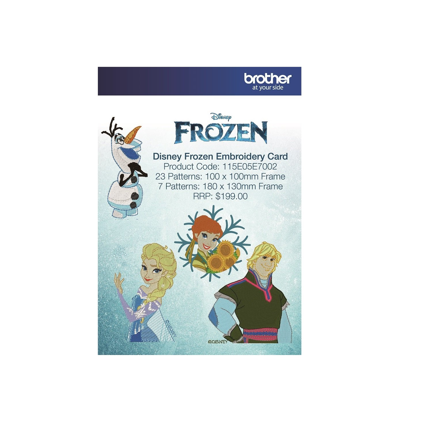 Disney S Frozen Embroidery Card 25 Blackmore And Roy Perth Wa,Jeans Garments Showroom Interior Design Photos Catalog