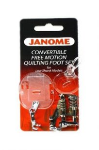Janome Quilting Foot Set Free Motion High Shank