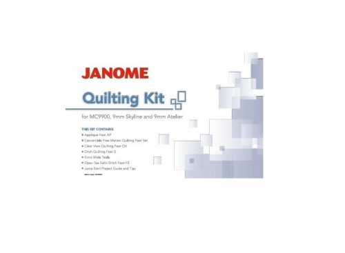 Skyline Quilting Kit Janome and other 9mm models MC9900 MC9450QCP