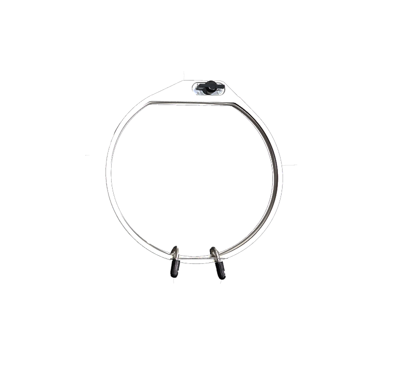 Janome Round Spring Loaded Hoop 126x110mm Blackmore And