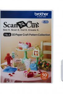 Brother Scan N Cut USB 3 Papercraft Patterns Cheap Discount Spotlight Cricut Janome Artistic Edge SVG cut files Pinterest Ideas Inspiration Guide Tutorial FCM FCN files