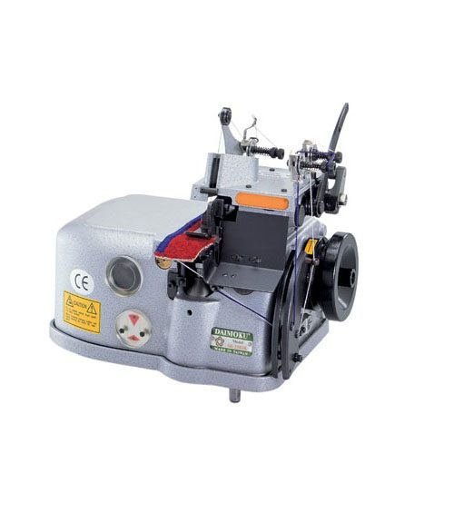 2503 Overlocker is a one needle, three-thread carpet over-edging sewing machine. Capable of straight and curved line sewing.