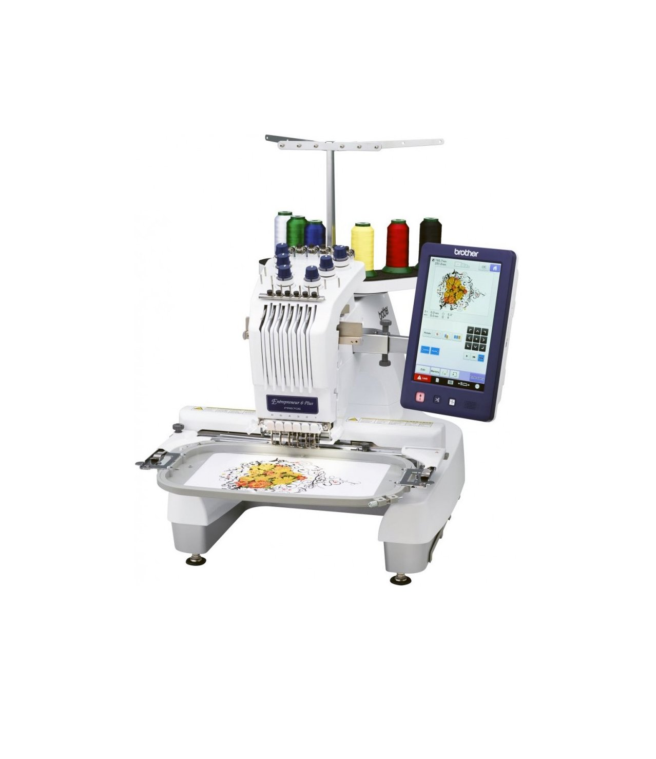 PR670EC Multi-needle Embroidery Machine Brother Entrepreneur Industrial Tajima Stitches Designs In-built decorative included cheap price bonus free