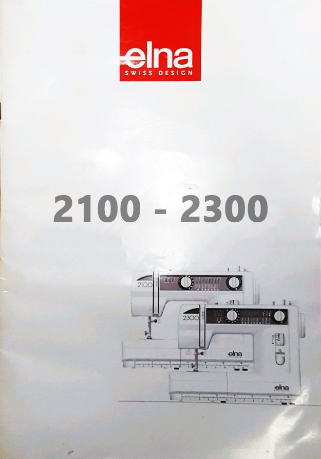 Elna 2300 instruction manual download 2100 2200 series for 2100 2300