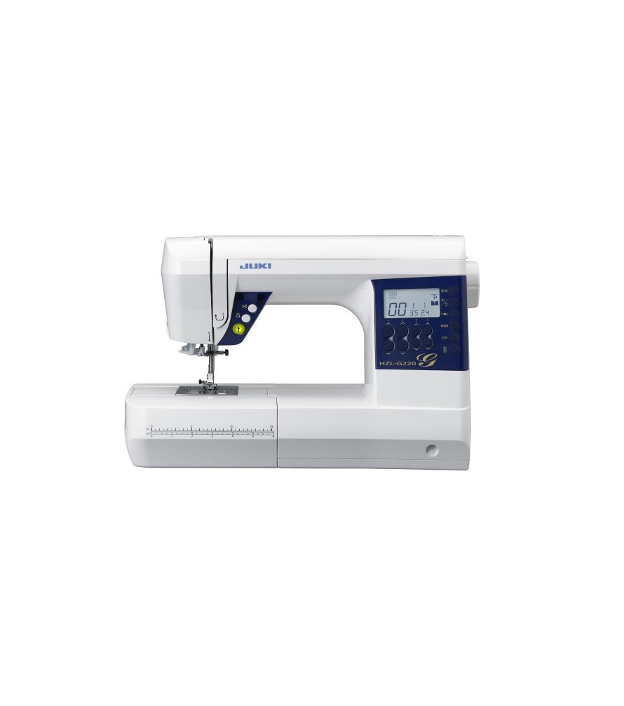 Juki HZL-G220 Computerised Computerized Sewing Machine Quilting Cheap Price Prices Delivery Perth Western Australia Shipping Built-in Stitches Free Arm Work Area Throat Space Stitches