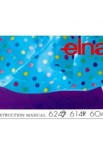 Elna 604DE 614DE 624DE Instruction Manual