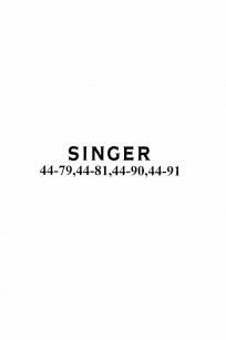 Singer 44 Series Instruction Manual 44-79, 44-80, 44-81, 44-90, 44-91, PDF free manual instructions booklet brochure download instant online