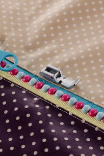F079AP Narrow Zipper Foot Brother Feet Accessories Sewing