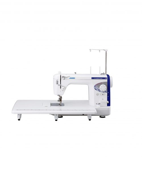 Juki TL-2200 QVP Mini Industrial Domestic Sewing Quilting Perth Western Australia Blackmore and Roy Sales Services Repairs Commercial Quilt Quilting Free Motion Area Workspace