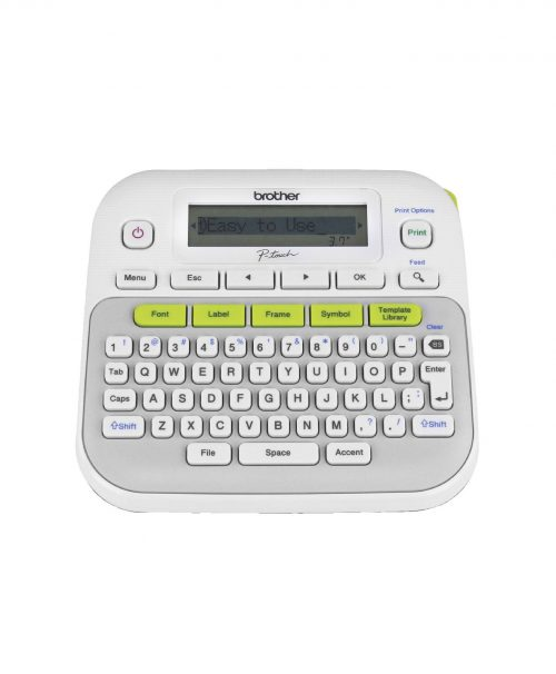 P-Touch D210 Label Maker Brother Tape