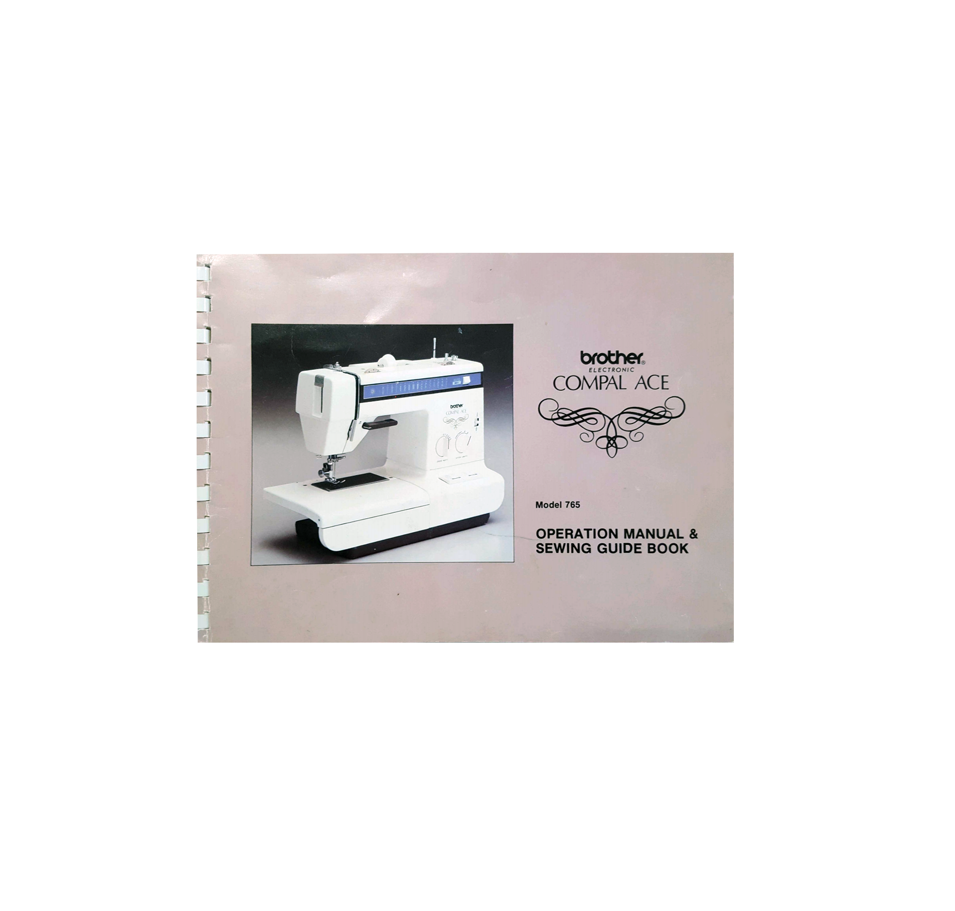 Compal Ace 765 Instruction Manual (Download) Sewing Machine Booklet Brochure Free Download PDF Read Online Epub