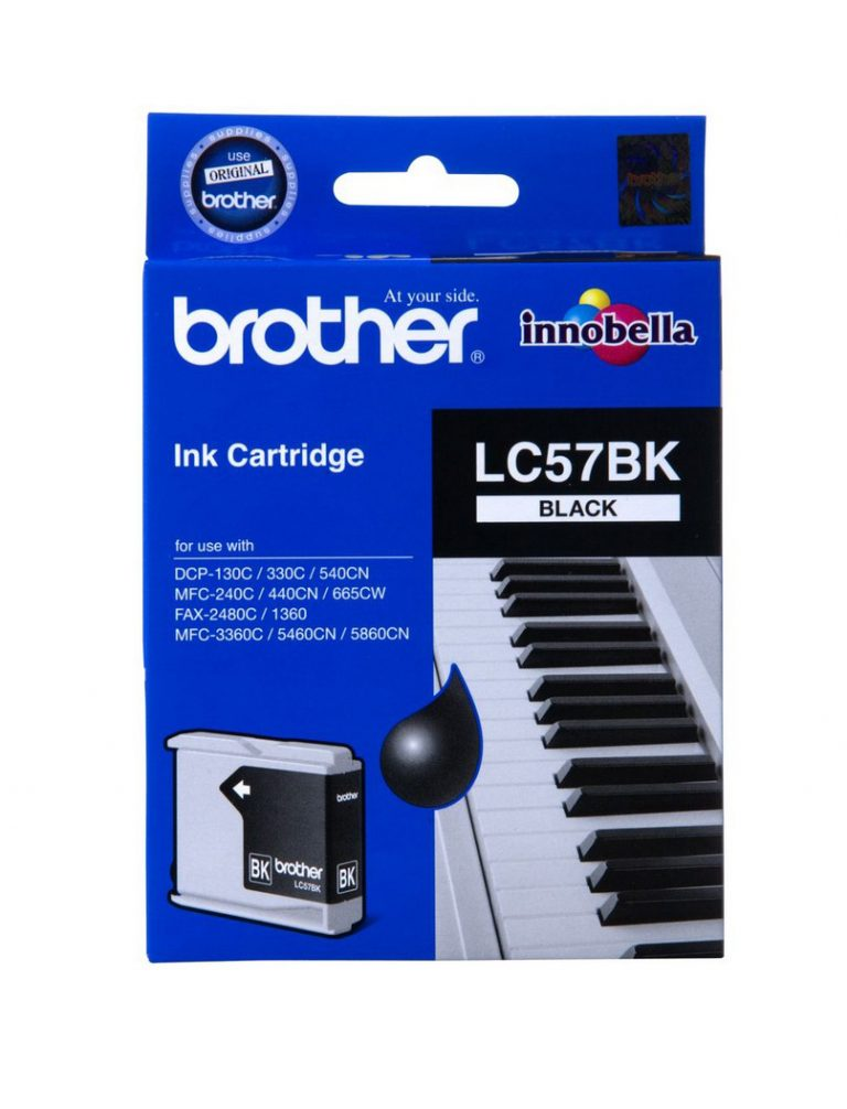 Brother Brand Printer Ink LC57BK in an un-opened blister packet. Selling due to office upgrading printer. Must go!