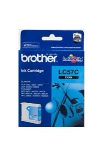 LC57C Brother Printer Ink Cyan Cartridge
