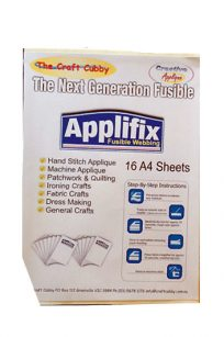 Craft Cubby Applifix Stabiliser Applique Vliesofix