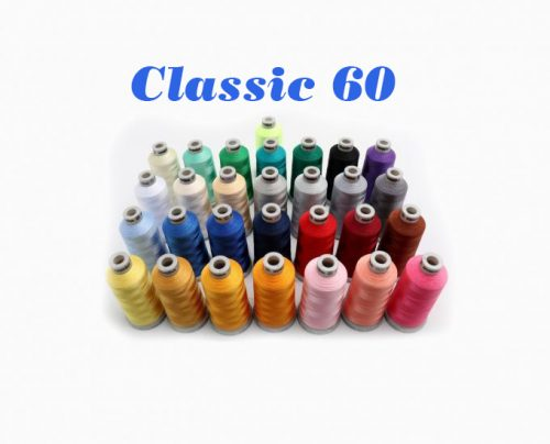 Madeira Classic 60 Embroidery Thread Monogramming Fine Lettering