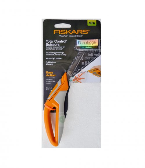 Fiskars Total Control Razor Edge Scissors 45mm