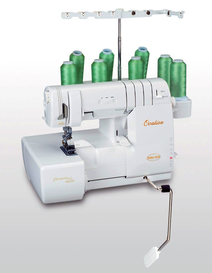 Baby Lock Ovation 8 Thread Overlocker Coverstitch Machine Air Thread