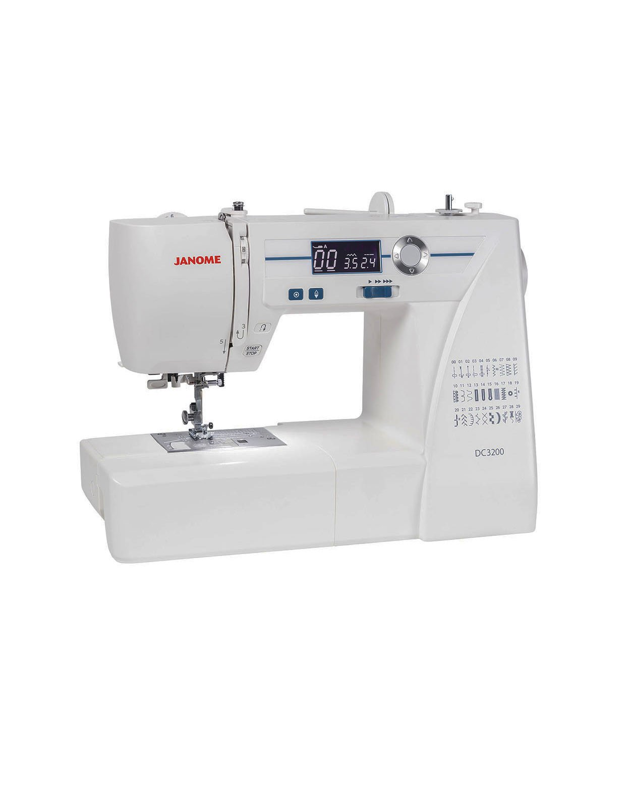 JANOME DC3200 Basic Beginner Computerised Electronic Sewing Machine