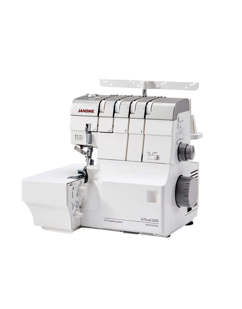 Janome AirThread 2000D Air Threading Overlocker Machine Rolled Hem Converter