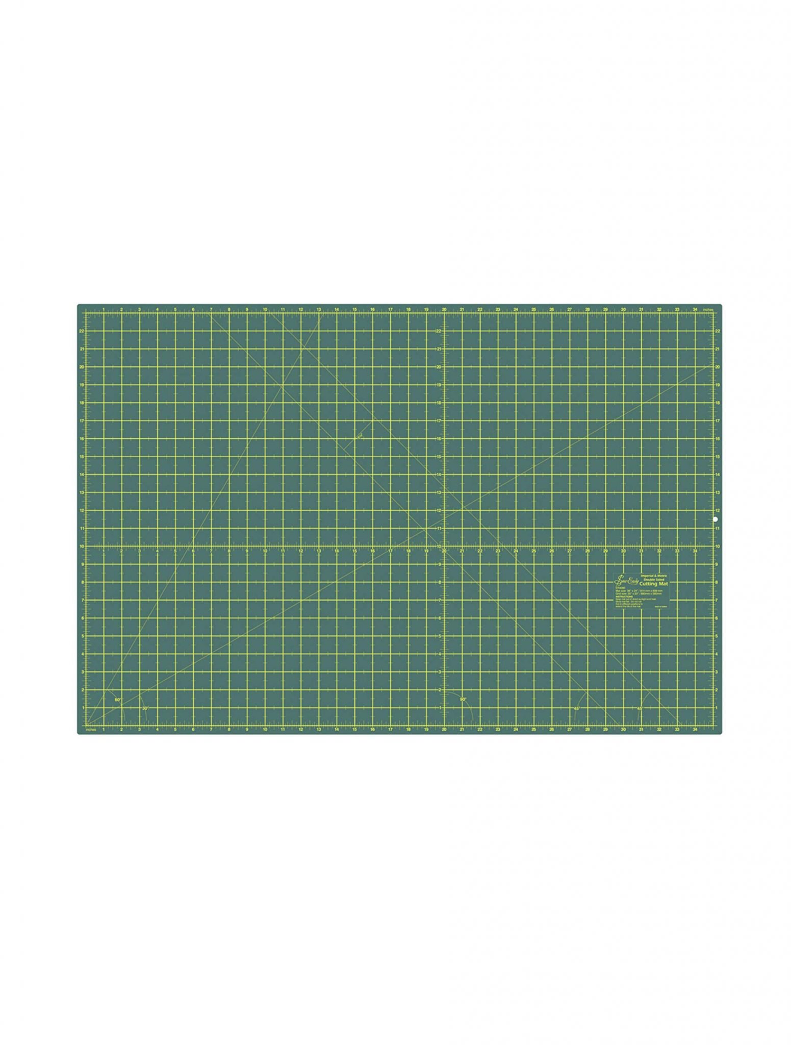 Sew Easy Double Sided Cutting Mat Self Healing 90 cm x 60cm 36 inches 24 inches Quilting
