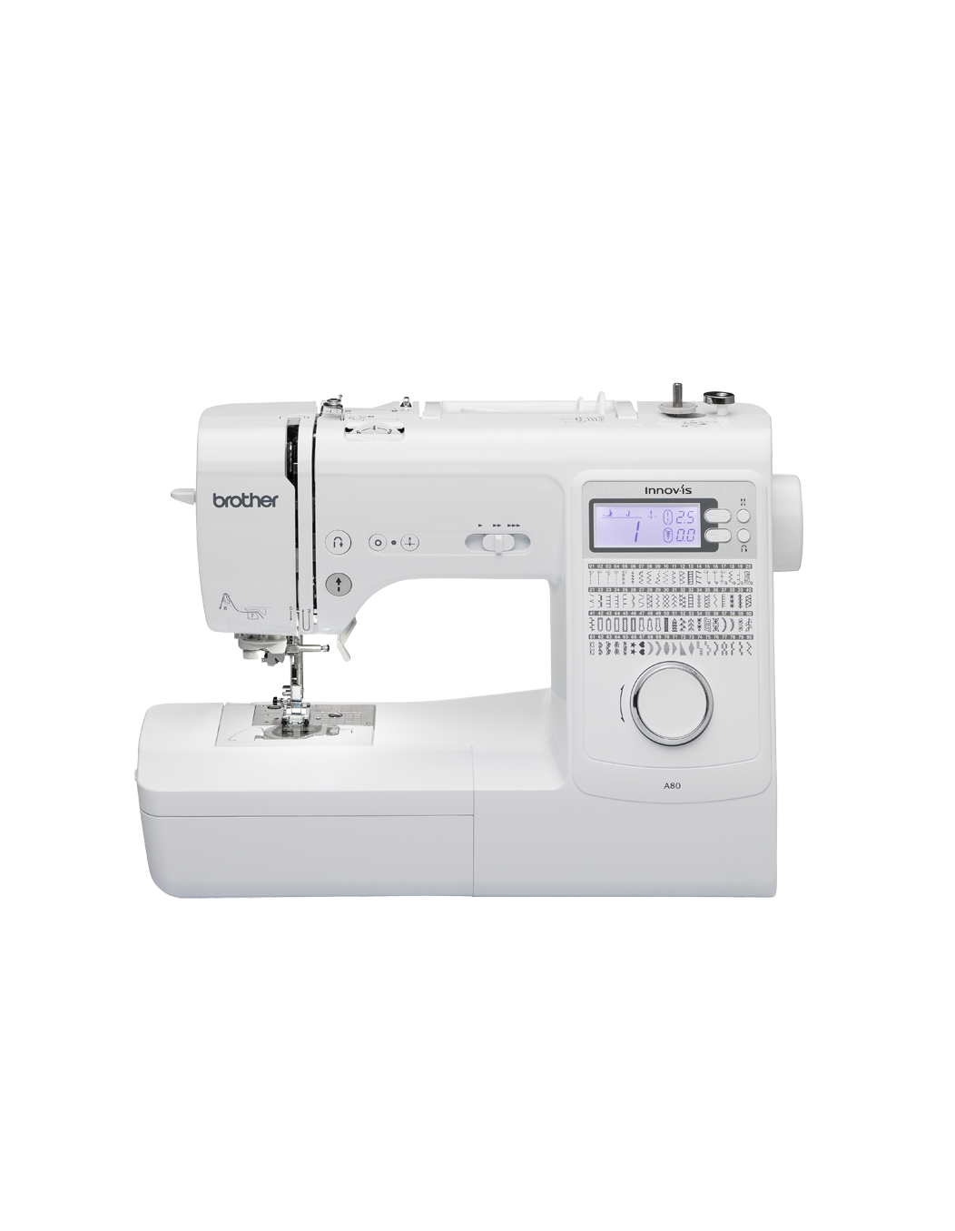 A80 Sewing Machine Brother Sewing Computerised Threader Stitches LCD Buttonhole