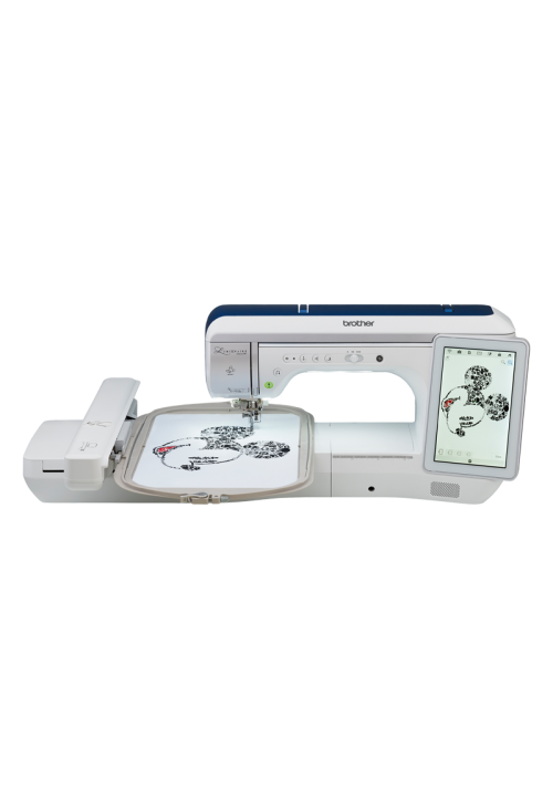 Brother Luminaire Innov-is XP XP1 Sewing & Embroidery Australia October New Model Stitchvision Stitch Vision Echo Quilting Throat