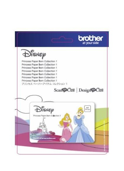 Disney Princess Scan N Cut Pattern Collection Papercraft Scrapbooking Paper Craft Designs USB