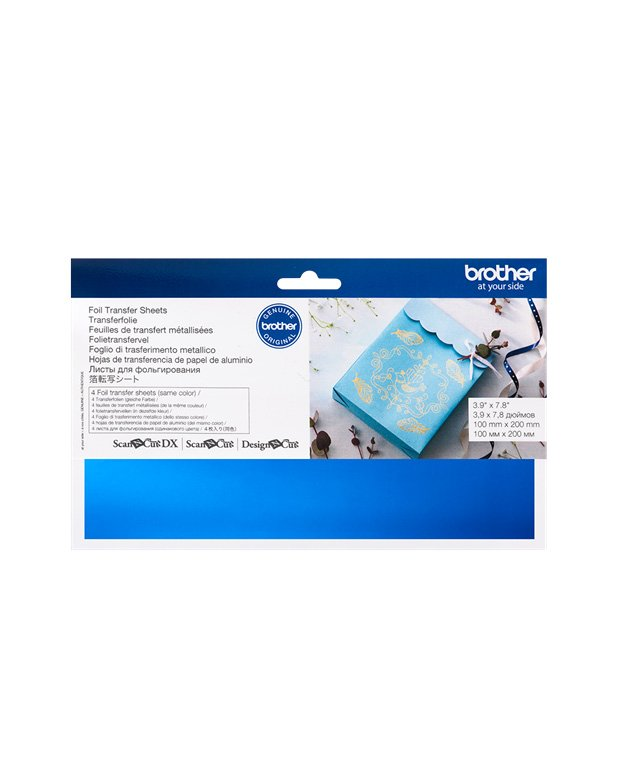 Blue Foil Transfer Sheets Brother Scan N Cut Design N Cut SDX1200 Accessories Foil Transfer Starter Kit