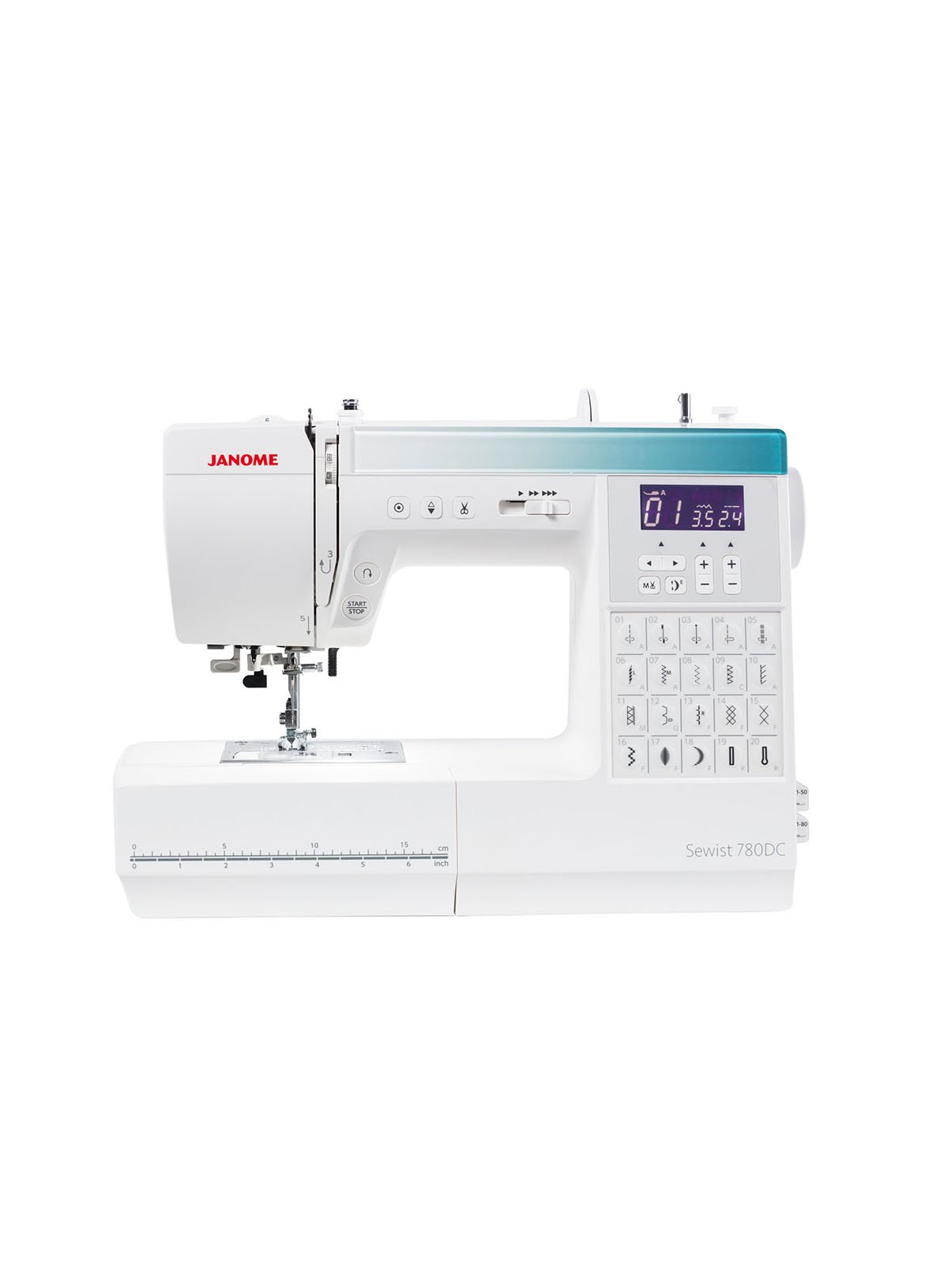 Janome Sewist 780DC Computerised Sewing Sewer Machine